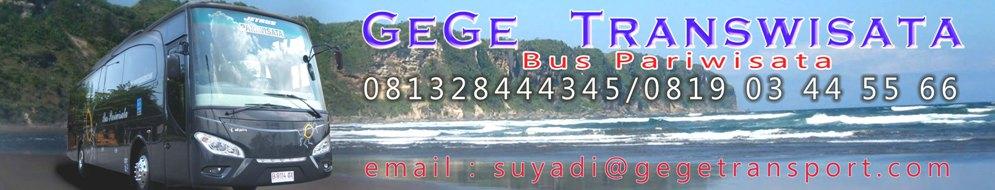 Bus Pariwisata Yogyakarta Gege Transwisata