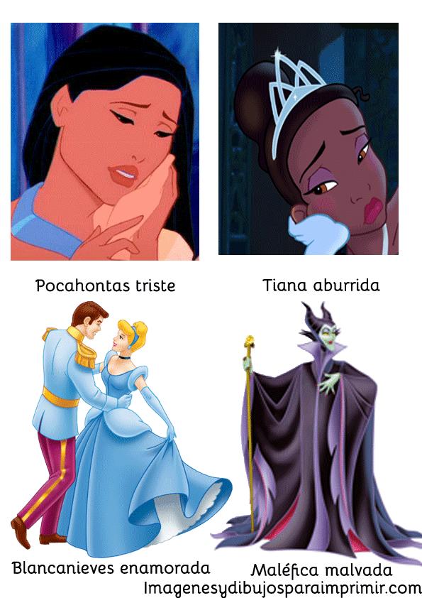 Pocahontas triste, malefica malvada