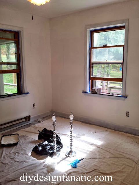 benjamin moore, decorator white,