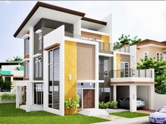 warna eksterior rumah