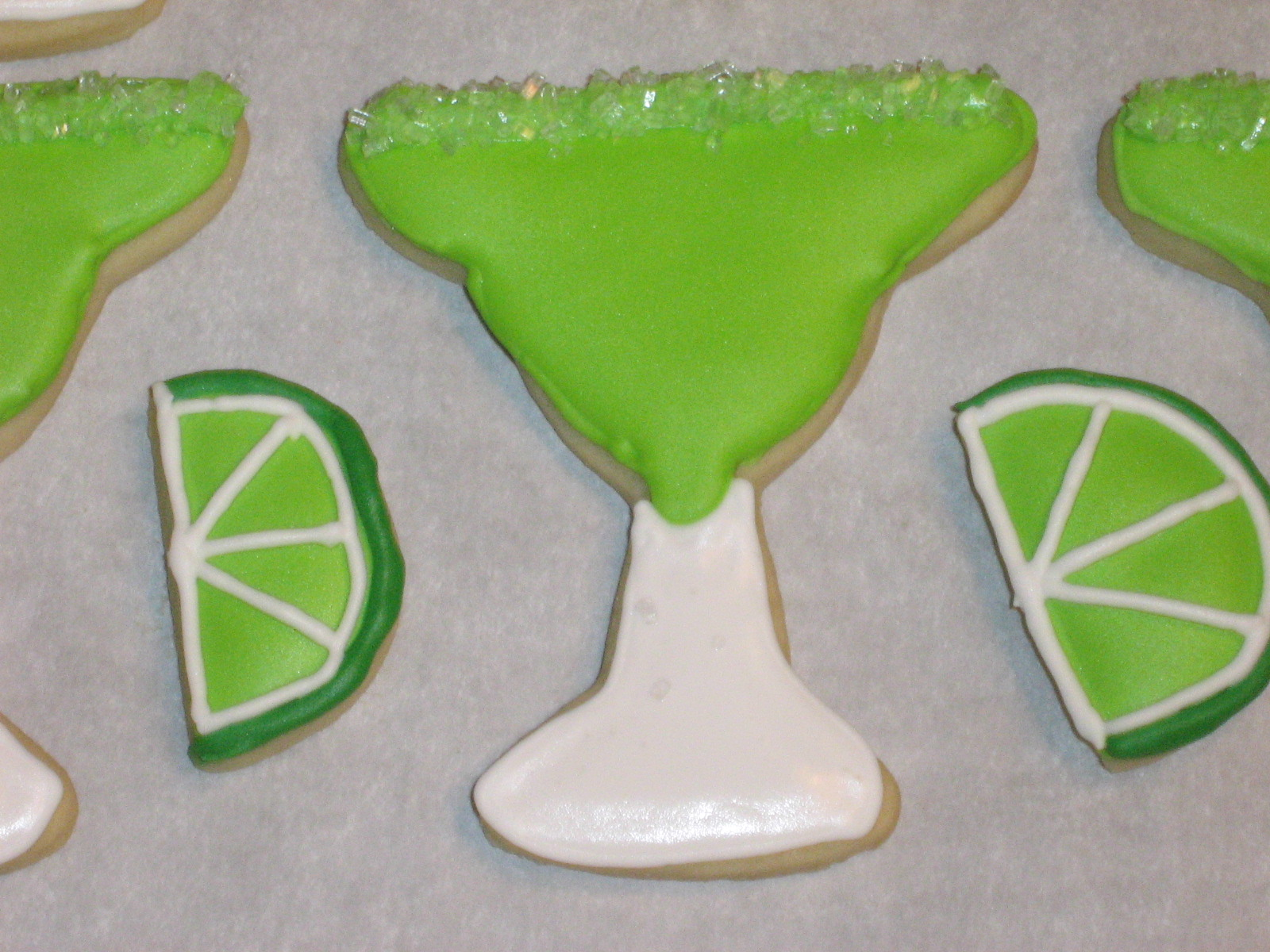 Margarita Cookies Recipe — Dishmaps