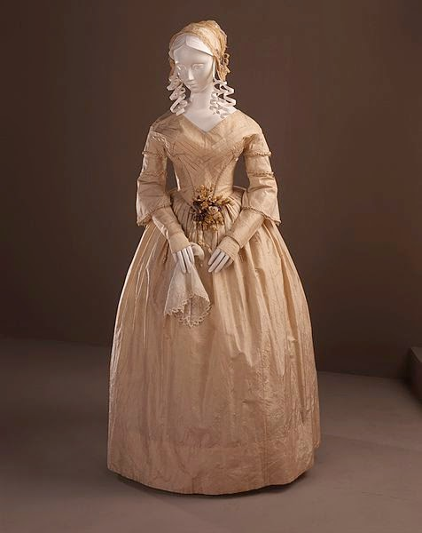 Nineteenteen how did 19th century pioneer ladies say i do for 19th century wedding dresses