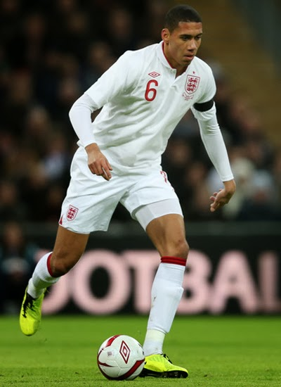 Chris Smalling Man Utd Defender profile 20132014