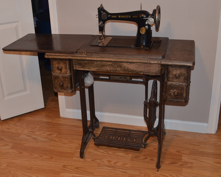 Richmond Thrifter: Sewing Table Ideas