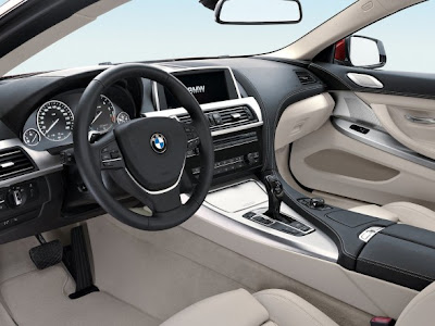 2012 BMW 6 Series Interior