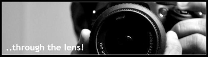 Through the lens!