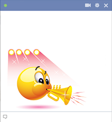 Musician Facebook emoticon