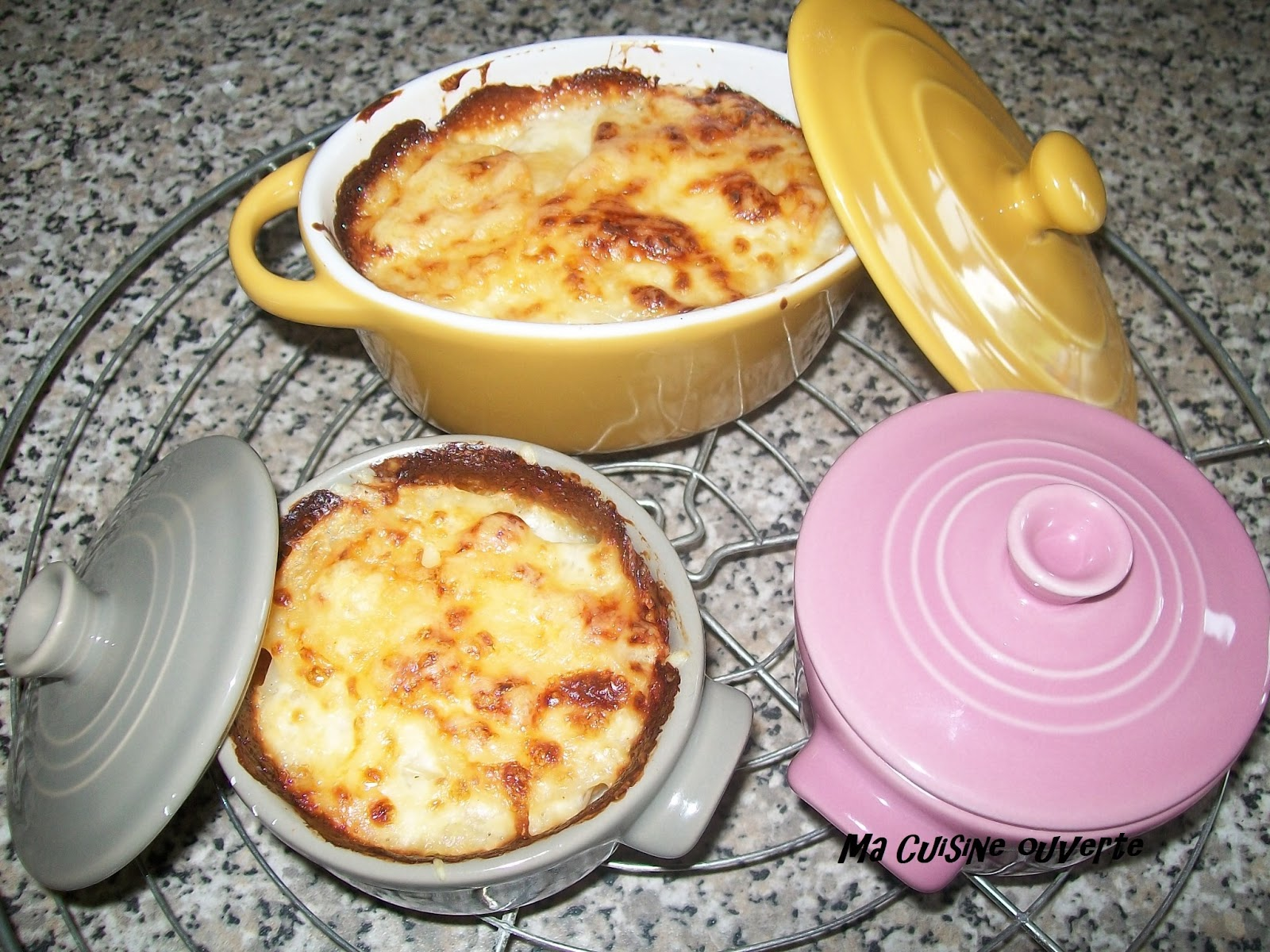 ma cuisine ouverte gratin dauphinois. Black Bedroom Furniture Sets. Home Design Ideas
