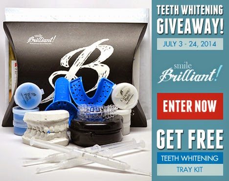 Smile Brilliant Teeth Whitening Kit Giveaway