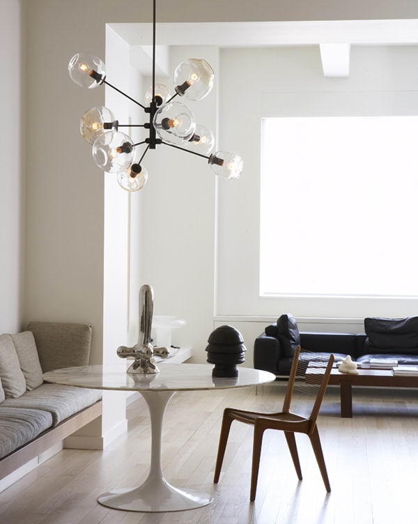 Contemporary table lamp design modern interior lighting with tulip - Lost In Time Sputnik Itp