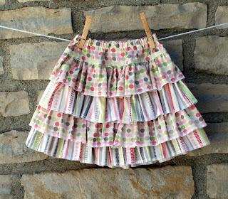 Pink Chickadee Designs Cha Cha Skirt