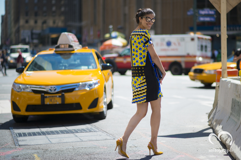 mitograph Caroline Issa Before Prabal Gurung New York Fashion Week 2014 Spring Summer NYFW Street Style Shimpei Mito