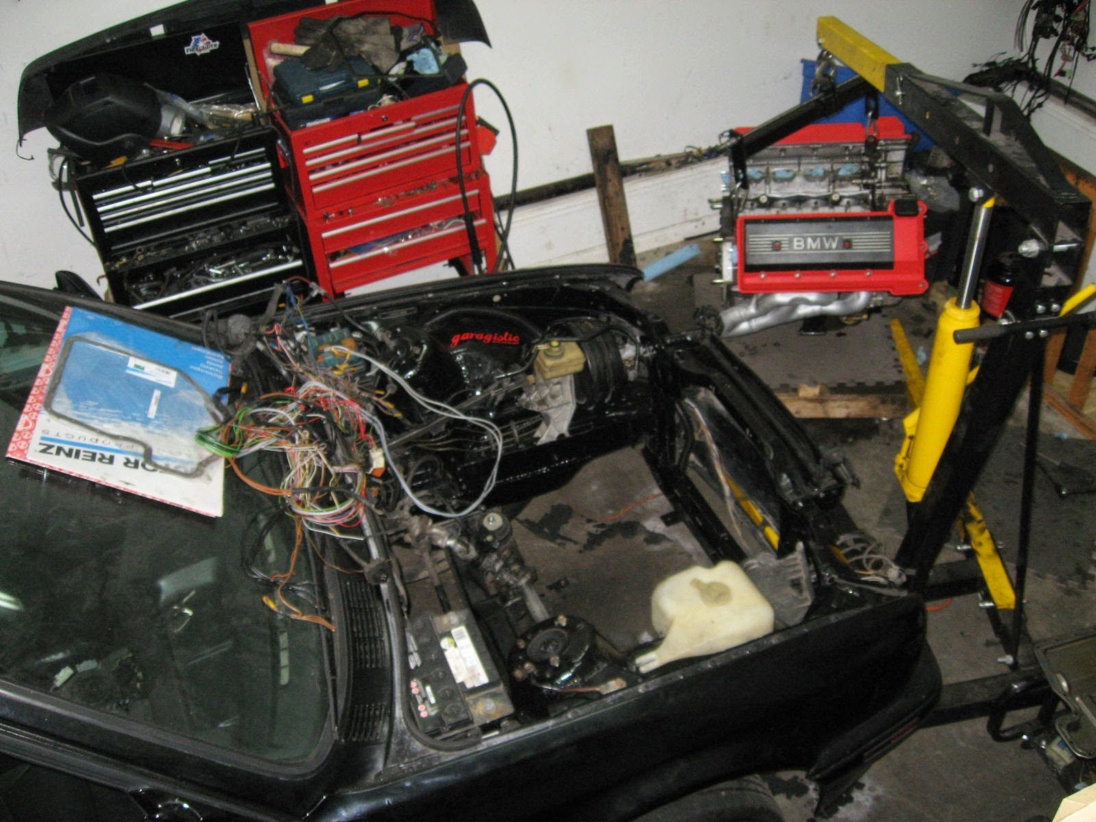 Dennys M62b44 Swap Ms2 Installed First Start Video Inside Smart Car Fuse Box Location As Well Microsquirt Wiring Diagram Archive R3vlimited Forums