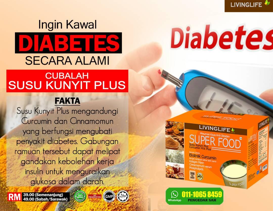 Ingin Kawal Diabetes