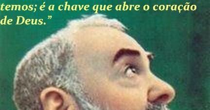 Apostolado Católico Na Internet Frases Célebres De São Padre Pio De