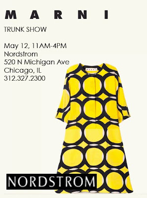 Marni trunk show at Nordstrom