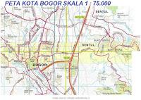 peta kota bogor map