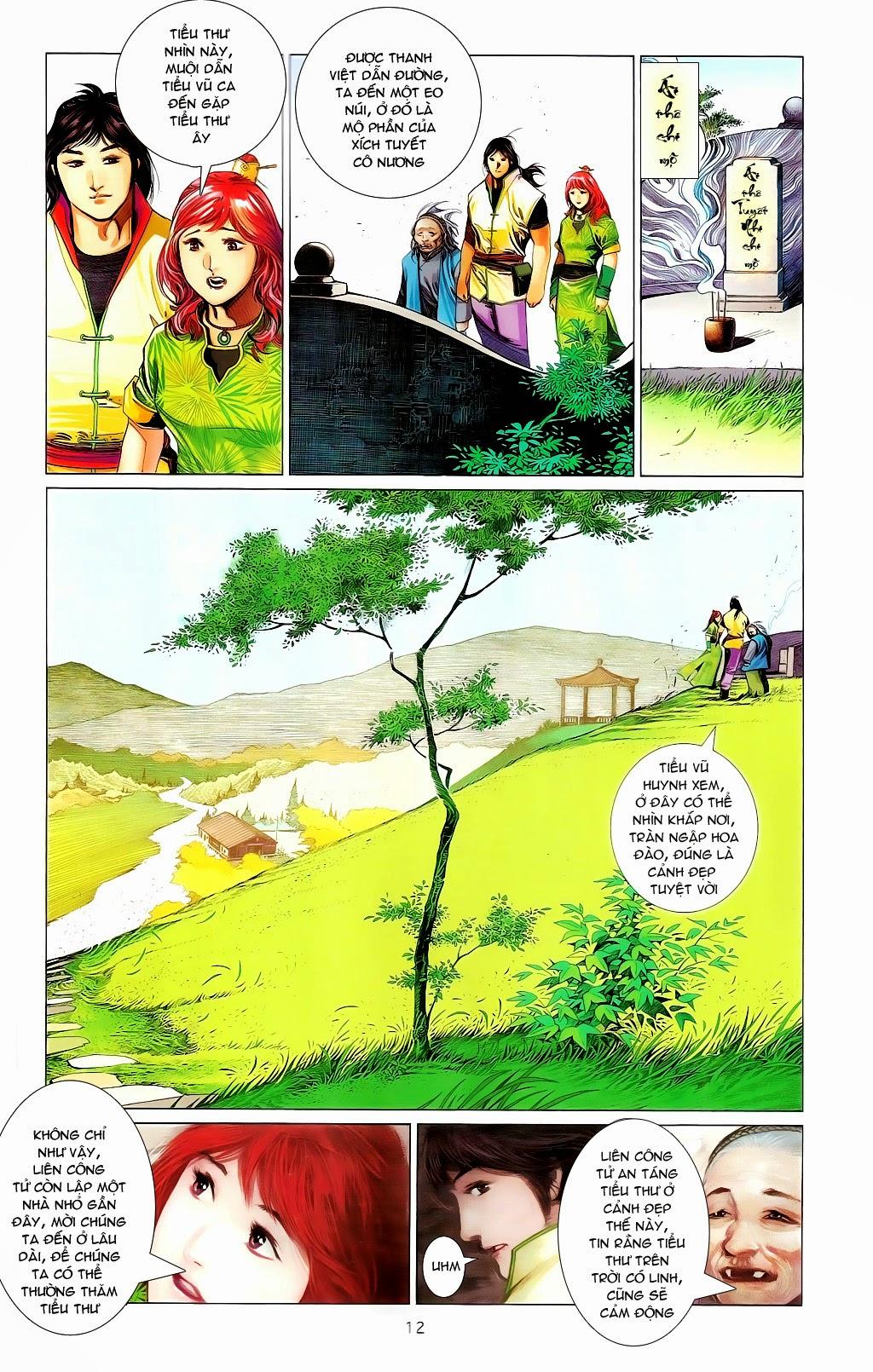 Phong Vân Chap 665 - Trang 11