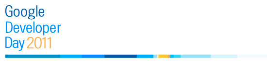 Banner Google Developer Days 2011