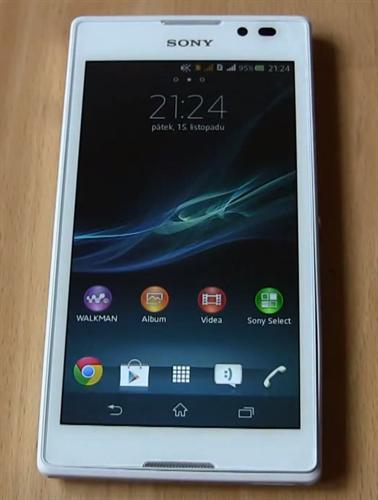 Sony Xperia C3 White