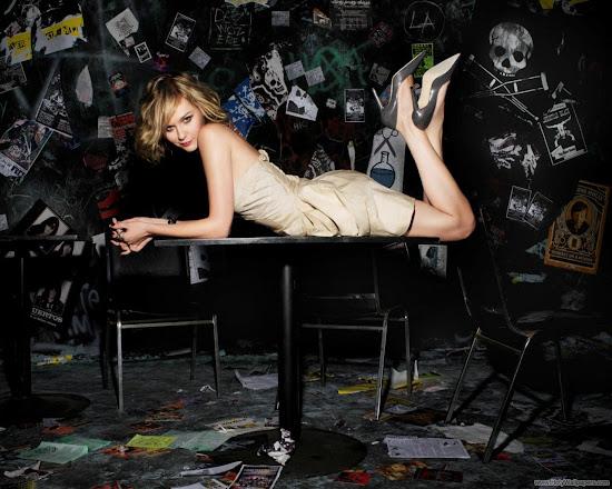 Actress Kirsten Dunst Wallpaper
