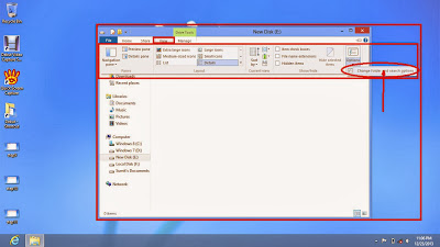 Learn how to show hidden files and folders in windows 8 step12