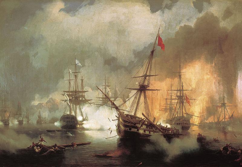 معركة نافارين البحرية