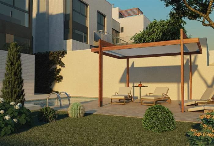 pergolas leroy merlin aluminio amazing good prgola privee de opend with pergolas de madera para. Black Bedroom Furniture Sets. Home Design Ideas
