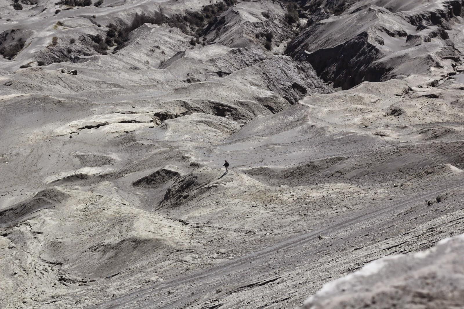pendaki gunung bromo