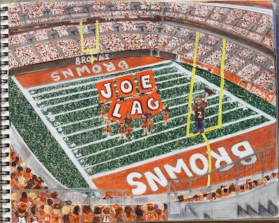 Joe Lag Title Page