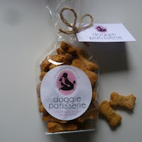 Bone shaped Doggie Patisserie training treats