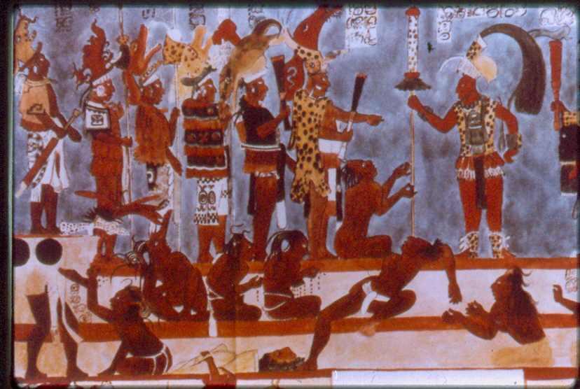 C tedra historia del arte universal for El mural de bonampak