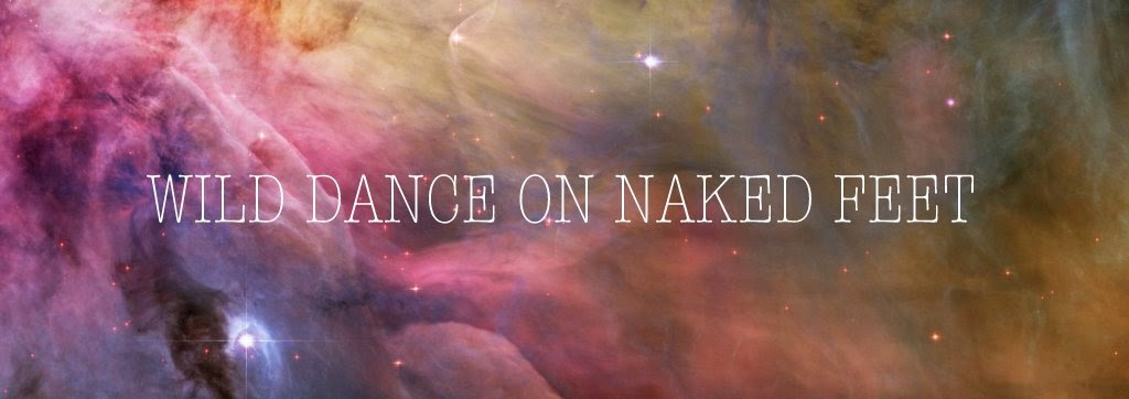 wild dance on naked feet
