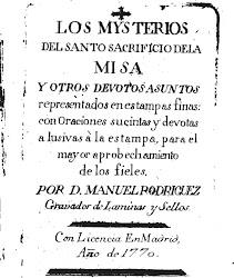 Los Mysterios del Santo Sacrificio de la Misa