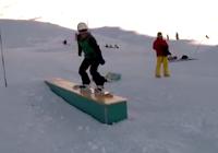 hoe maak je een 50-50 op een snowboard
