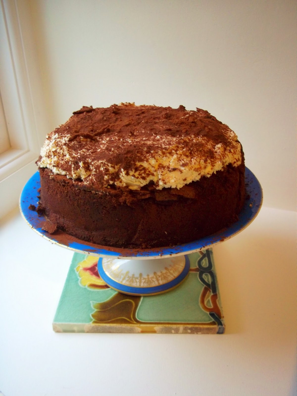 Idle Bakes: Nigella's Gluten Free Chocolate Cloud Cake