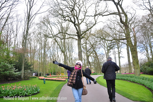 holiday to holland and belgium with premium beautiful at keukenhof at tulips festival