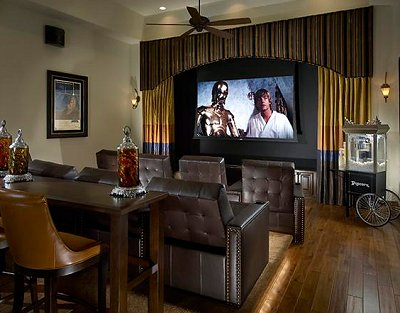 Delightful Movie Themed Bedrooms   Home Theater Design Ideas   Hollywood Style Decor   Movie  Decor   Part 16