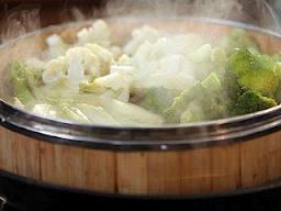 Como bajar la panza con dieta y peso cocinando al vapor - Como cocinar verduras al vapor ...