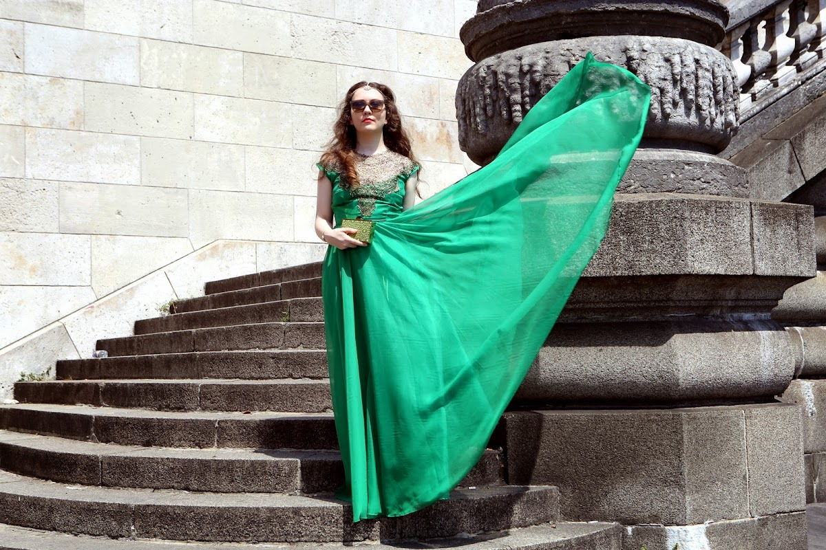 Feeling special in green