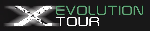 Logo del Fujifilm X Evolution Tour