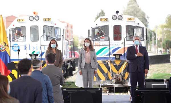 """""""El tren está de regreso"""": Gobierno nacional presenta Plan Maestro Ferroviario"""