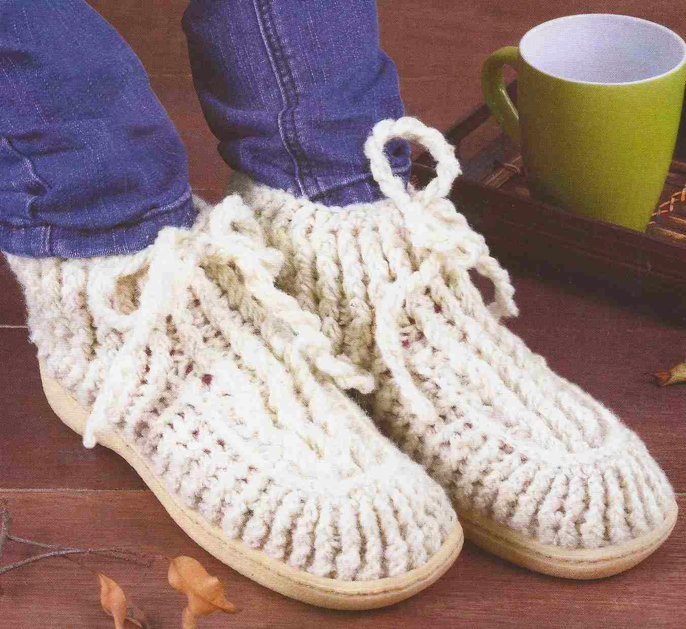 Botines a Crochet o Ganchillo
