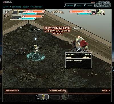 Six Gun Galaxy - Combat 1