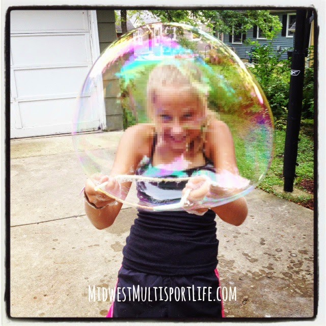 Giant Soap Bubble Recipe