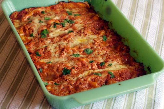 Shrimp Enchiladas — Our Family Eats