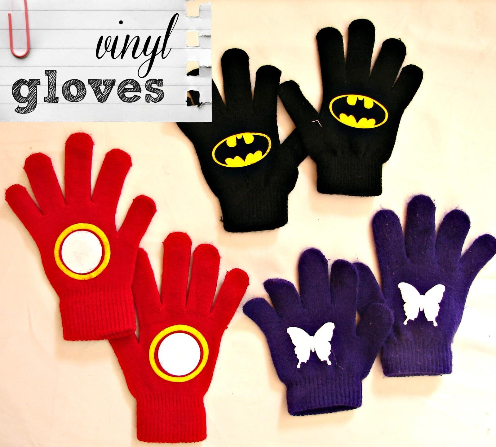 A girl and a glue gun: t-shirt vinyl gloves guest post
