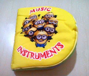 Minion Learning Music Instruments