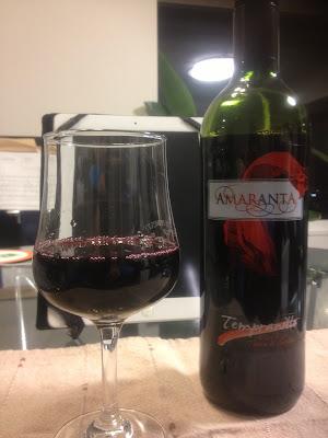 ミニストップのワイン AMARANTA