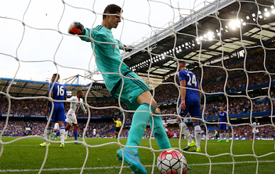Chelsea's Thibaut Courtois frustrated by Crystal Palace result
